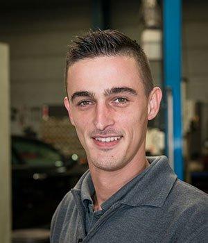 Werkplaatsmanager Mark IJmker