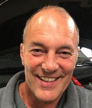Automonteur Gert de Jong